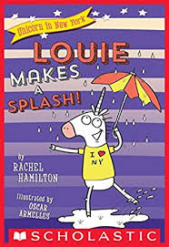 Louie makes a splash!